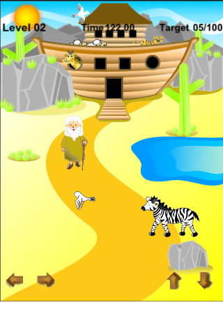 Screenshot Noah's Ark – Help Noah Save All the Animals – Bible Based Game for Kids